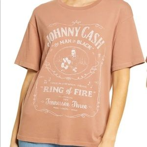 Daydreamer Johnny Cash Ring of Fire Graphic Tee